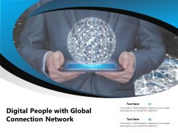 Digital People With Global Connection Network