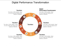 Digital Performance Transformation Ppt Powerpoint Presentation File Graphics Cpb