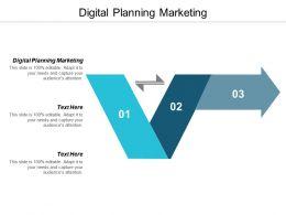 Digital Planning Marketing Ppt Powerpoint Presentation Ideas Background Designs Cpb