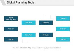Digital Planning Tools Ppt Powerpoint Presentation Infographic Template Demonstration Cpb