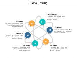 Digital Pricing Ppt Powerpoint Presentation Ideas Slideshow Cpb