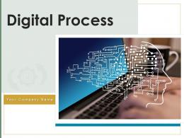Digital Process Technology Financial Currency Experience Digitalization Organizational