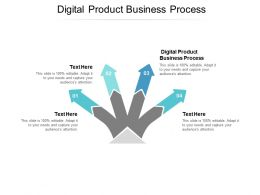 Digital Product Business Process Ppt Powerpoint Presentation Professional Icons Cpb