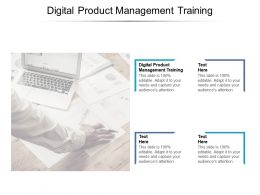 Digital Product Management Training Ppt Powerpoint Presentation Outline Infographic Cpb