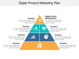 Digital Product Marketing Plan Ppt Powerpoint Presentation Slides Graphics Example Cpb