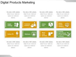 Digital Products Marketing Ppt Slide Themes