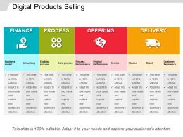 Digital Products Selling Ppt Summary