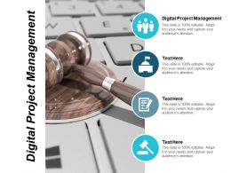 Digital Project Management Ppt Powerpoint Presentation Outline Samples Cpb