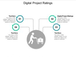Digital Project Ratings Ppt Powerpoint Presentation Infographic Template Objects Cpb