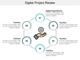 Digital Project Review Ppt Powerpoint Presentation Slides Sample Cpb