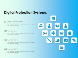 Digital Projection Systems Ppt Powerpoint Presentation Professional Summary