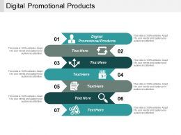 Digital Promotional Products Ppt Powerpoint Presentation Outline Show Cpb
