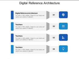 Digital Reference Architecture Ppt Powerpoint Presentation Layouts Picture Cpb