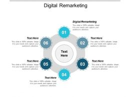 Digital Remarketing Ppt Powerpoint Presentation Gallery Graphics Template Cpb