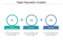 Digital Reputation Analytics Ppt Powerpoint Presentation Gallery Templates Cpb