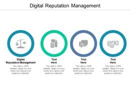 Digital Reputation Management Ppt Powerpoint Presentation Infographic Template Template Cpb