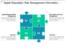 Digital Reputation Risk Management Information Life Cycle Management Cpb