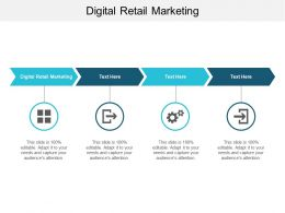 Digital Retail Marketing Ppt Powerpoint Presentation Model Outfit Cpb