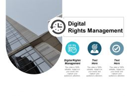 Digital Rights Management Ppt Powerpoint Presentation Pictures Example Topics Cpb