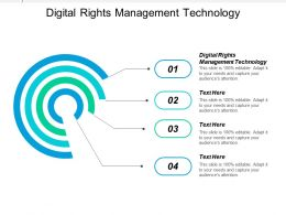 Digital Rights Management Technology Ppt Powerpoint Presentation Icon Images Cpb