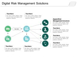 Digital Risk Management Solutions Ppt Powerpoint Presentation Icon Format Ideas Cpb
