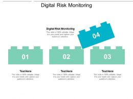 Digital Risk Monitoring Ppt Powerpoint Presentation Summary Display Cpb