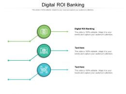 Digital ROI Banking Ppt Powerpoint Presentation Ideas Icons Cpb