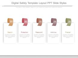 Digital Safety Template Layout Ppt Slide Styles