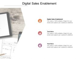 Digital Sales Enablement Ppt Powerpoint Presentation Layouts Designs Cpb
