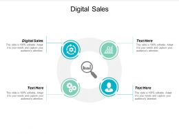 Digital Sales Ppt Powerpoint Presentation File Guidelines Cpb
