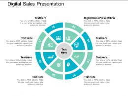 Digital Sales Presentation Ppt Powerpoint Presentation Inspiration Mockup Cpb