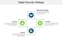 Digital Security Strategy Ppt Powerpoint Presentation Outline Background Designs Cpb