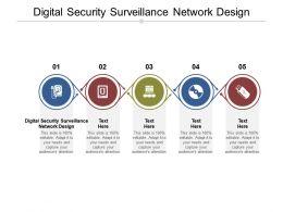 Digital Security Surveillance Network Design Ppt Powerpoint Presentation File Slideshow Cpb