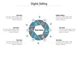 Digital Selling Ppt Powerpoint Presentation File Deck Cpb