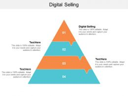 Digital Selling Ppt Powerpoint Presentation Ideas Layouts Cpb