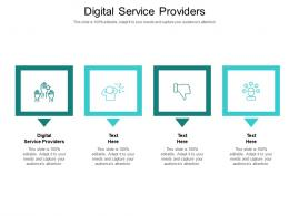 Digital Service Providers Ppt Powerpoint Presentation Gallery Vector Cpb