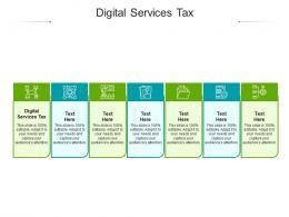 Digital Services Tax Ppt Powerpoint Presentation Inspiration Slides Cpb