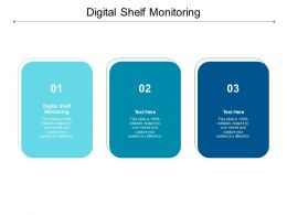 Digital Shelf Monitoring Ppt Powerpoint Presentation Pictures Themes Cpb