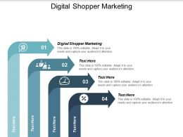 Digital Shopper Marketing Ppt Powerpoint Presentation Portfolio Example Cpb