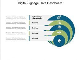 Digital Signage Data Dashboard Ppt Powerpoint Presentation Model Introduction Cpb