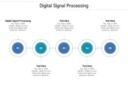 Digital Signal Processing Ppt Powerpoint Presentation Professional Show Cpb