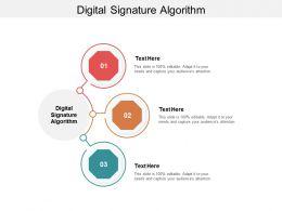 Digital Signature Algorithm Ppt Powerpoint Presentation Infographic Template Slide Portrait Cpb