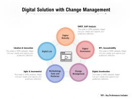 Digital Solution With Change Management