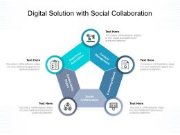 Digital Solution With Social Collaboration
