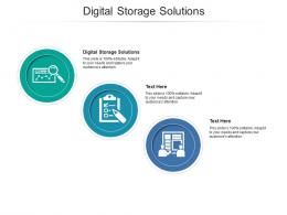 Digital Storage Solutions Ppt Powerpoint Presentation Infographic Template Master Slide Cpb