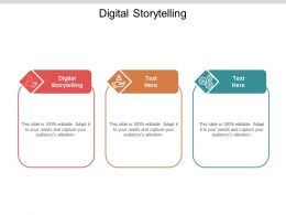 Digital Storytelling Ppt Powerpoint Presentation Model Deck Cpb