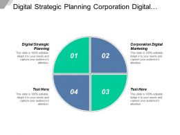 Digital Strategic Planning Corporation Digital Marketing Strategic Process Cpb