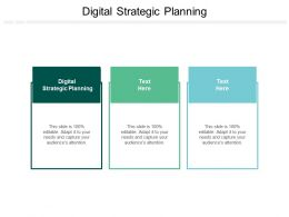Digital Strategic Planning Ppt Powerpoint Presentation Model Files Cpb