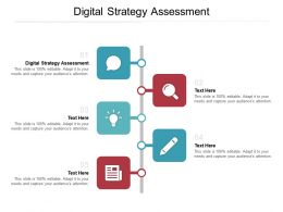 Digital Strategy Assessment Ppt Powerpoint Presentation Professional Infographic Template Cpb