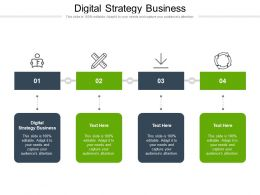 Digital Strategy Business Ppt Powerpoint Presentation Gallery Slide Portrait Cpb